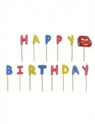 Velas Happy Birthday multicolor Cars™