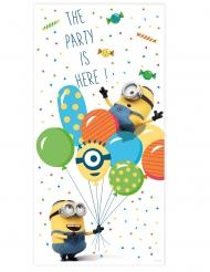 Decoração de porta Minions ballons party™ 150 x 75 cm
