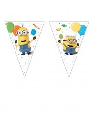 Grinalda 9 bandeirolas Minions ballons party™ 2,3 m