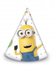 6 Chapéus de festa Minions ballons party™