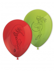 8 Balões de látex Miraculous Ladybug™