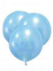 5 Balões gigantes de látex azul 47 cm