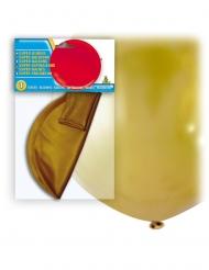 Balão gigante de látex dourado 80 cm