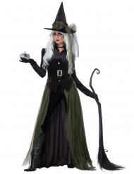 Disfarce de bruxa gótica adulto