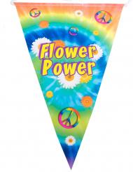 Grinalda bandeirolas hippie 5 m