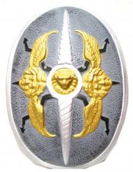 Escudo asas de anjo plástico 60 x 40 cm