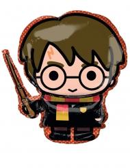 Balão alumínio Harry Potter™ 68 x 63 cm