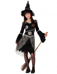 Disfarce bruxa espantalho menina