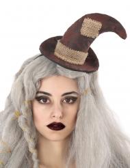 Bandolete chapéu de bruxa espantalho adulto