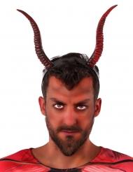 Bandolete com chifres de diabo adulto