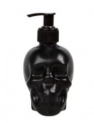 Distribuidor de sabão líquido caveira preta
