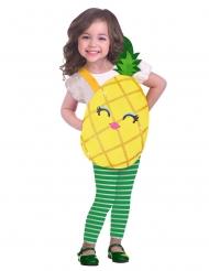 Disfarce pequeno ananás fofinho menina