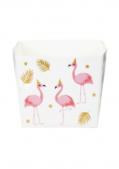 6 Caixas Flamingo Trópico em cartão 40 cl