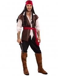 Disfarce tamanho grande pirata homem