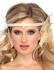 Bandolete orelhas de sereia dourado