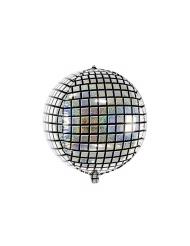 Balão alumínio bola disco 40 cm