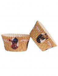 25 Formas para cupcakes de papel Ladybug™ 5 x 3 cm
