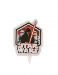 Vela de aniverário Star Wars™ 8 cm