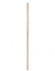 10 Palhinhas de cartão cor-de-rosa gold 21 cm