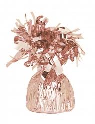 Peso balão cor-de-rosa gold metalizado