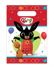 8 Sacos de festa em plástico Bing™