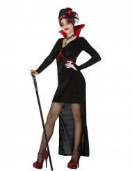 Disfarce vampira gótica sexy mulher