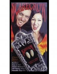 Dentes de vampiro luxo adulto