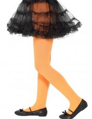 Collants opacos laranja criança