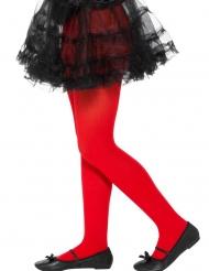 Collants vermelhos criança