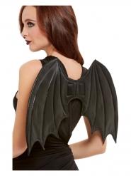 Asas de morcego pretas 50 cm adulto