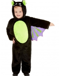 Disfarce morcego peluche criança