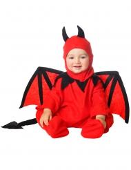 Disfarce diabo com:carapuço para bebé