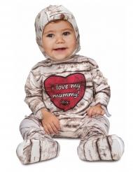 Disfarce macacão múmia bebé