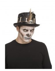 Chapéu alto vudu 59 cm adulto