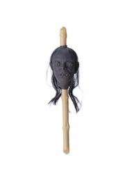 Cetro cabeça encolhida 50 x 13 x 13 cm