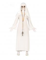 Disfarce freira fantasma mulher