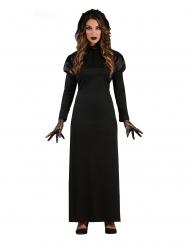 Disfarce senhora gótica mulher