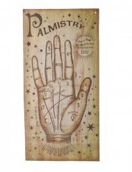 Cartaz vidência mão da fortuna 160 x 75 cm