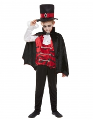 Disfarce vampiro gótico criança