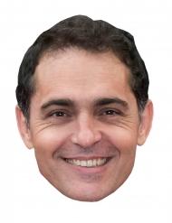 Máscara de cartão ladrão Pedro Alonso