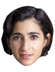 Máscara de cartão ladrão Alba Flores