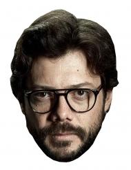 Máscara de cartão ladrão Álvaro Morte