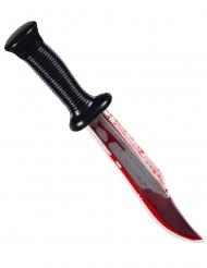 Faca assassino sangrenta 33 cm