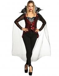 Disfarce conjunto vampira mulher