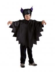 Capa e carapuço morcego criança