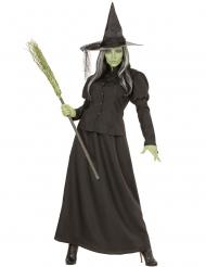 Disfarce bruxa do sótão mulher