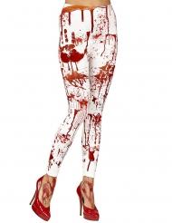 Leggings ensanguentadas mulher