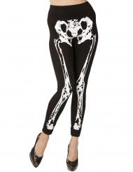 Legging esqueleto mulher