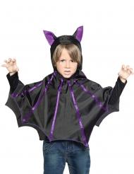 Poncho morcego criança