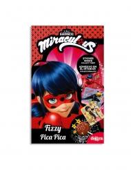 Chupa com pó pica Ladybug™ com sticker 9 gr